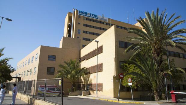 Imagen de archivo del Hospital General Universitario de Elche