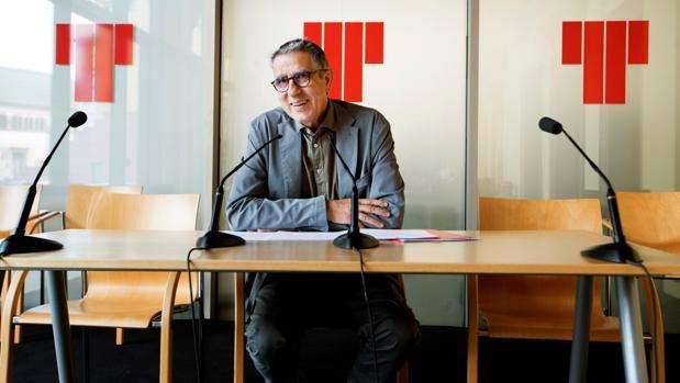 El presidente del patronato del Teatre Lliure, Ramon Gomis