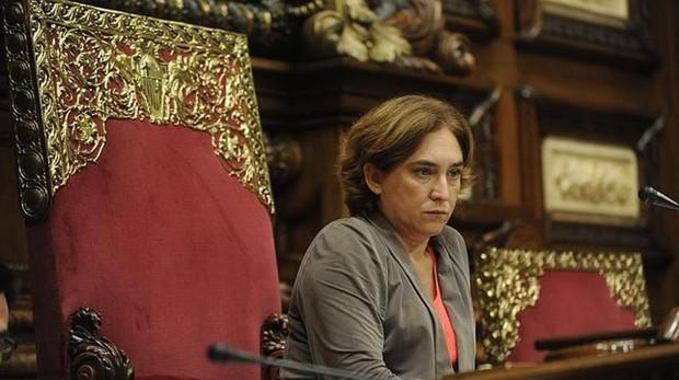 La alcaldesa de Barcelona, en una imagen de archivo