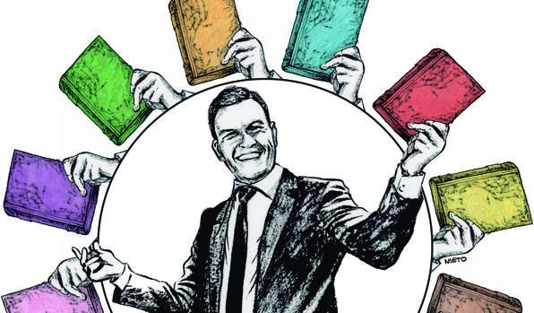 Ilustración de Pedro Sánchez