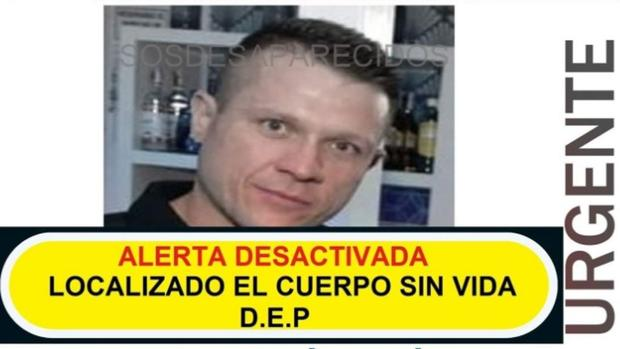 Fotografía de Antonio Martínez, almanseño que ha aparecido muerto tras su desaparición