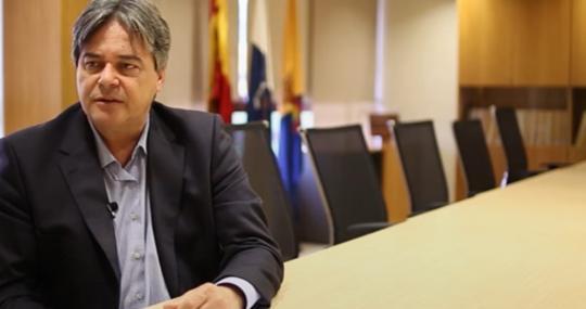 Gerardo Henríquez, gerente del Consejo Insular de Aguas de Gran Canaria