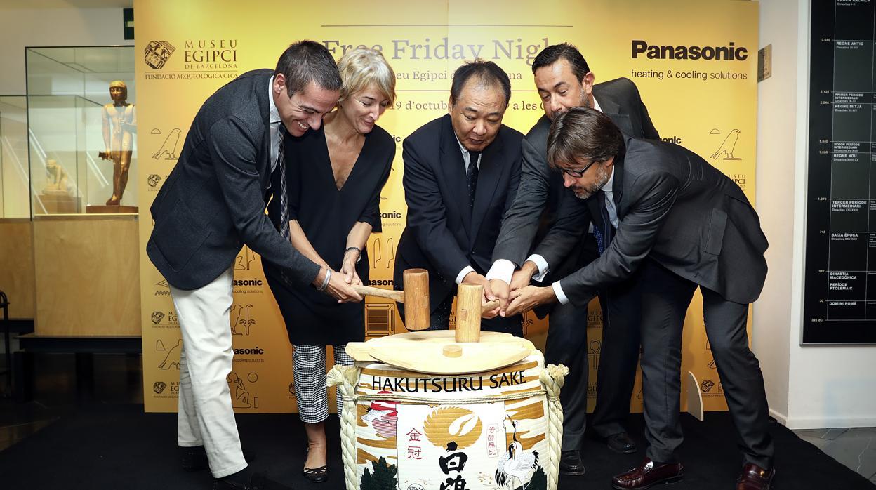 Noche de puertas abiertas en el Museo Egipcio de Barcelona gracias al patrocinio de Panasonic