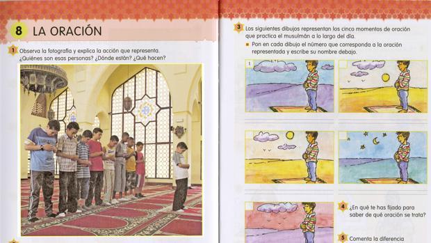 Imagen de archivo de un libro de religión islámica