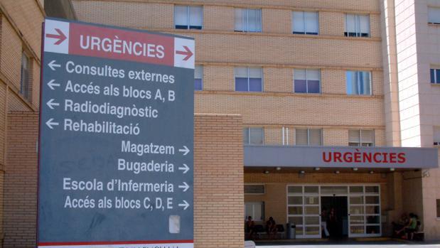 Imagen del Hospital General de Castellón, donde ha sido atendido el hombre