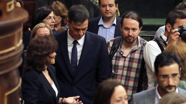 Iglesias justifica la treta del Gobierno en los Presupuestos: «Está cumpliendo un compromiso»