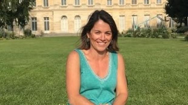 La alcaldesa de Torrelodones, Elena Biurrun