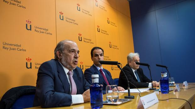 Enrique Álvarez Conde, exdirector del máster de Cifuentes
