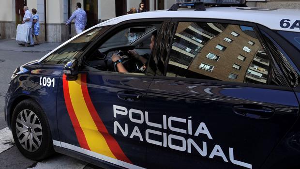Foto de archivo de un coche de la Policía Nacional