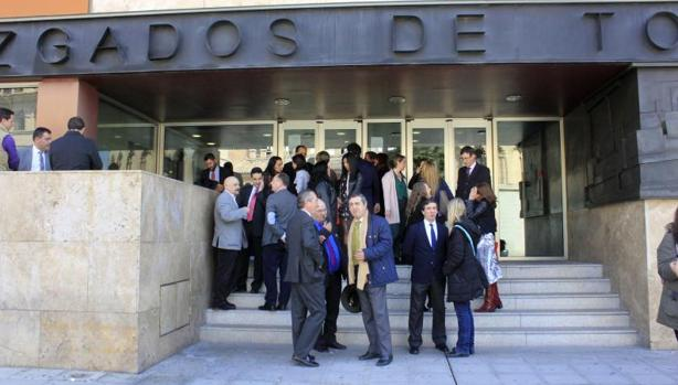 Los juzgados de Toledo están colapsados por las cláusulas suelo