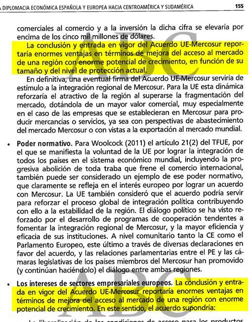 Página 155 del libro «La nueva diplomacia económica española»