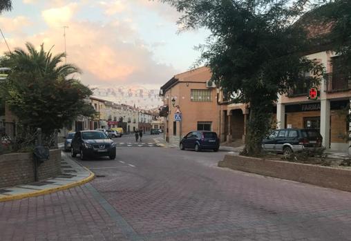 Calle Real, vía por la que corría el agua el pasado 8 de septiembre