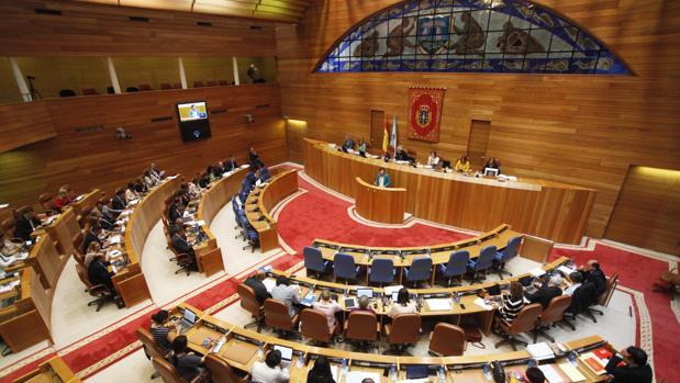 Vista general del Parlamento gallego