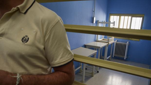 El módulo 15 de alta seguridad, donde los reclusos se encuentran en aislamiento, del centro penitenciario Madrid