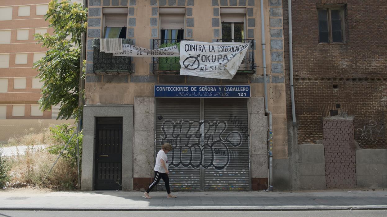 Las okupaciones de pisos en Madrid crecen un 23,4%