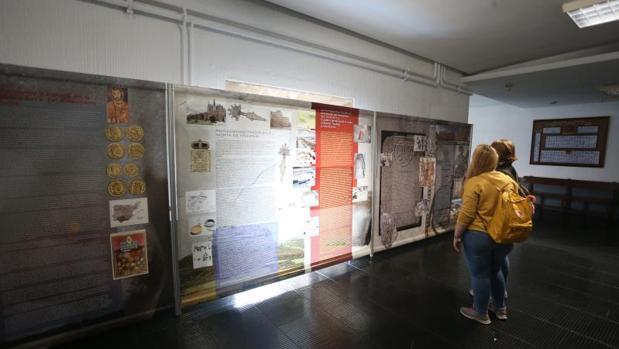 Muestra Tempvs Barbaricvm en la Facultad de Historia organizada junto al Congreso sobre Prisiciliano