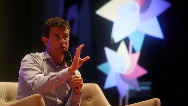 El exprimer ministro francés Manuel Valls en un coloquio sobre populismos y nacionalismos en Córdoba