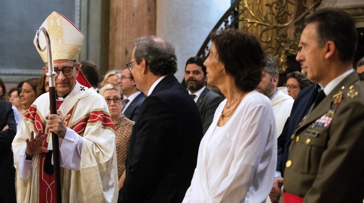 El Cardenal-Arzobispo de Barcelona pide no caer «en la división y la confrontación»