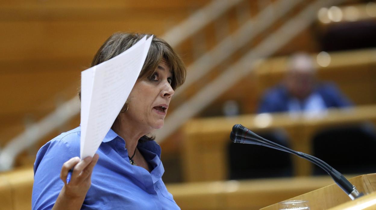 La ministra Delgado dice ahora que coincidió con el excomisario Villarejo en tres ocasiones