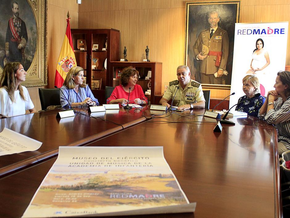 El Museo del Ejército acoge el viernes el concierto benéfico de RedMadre