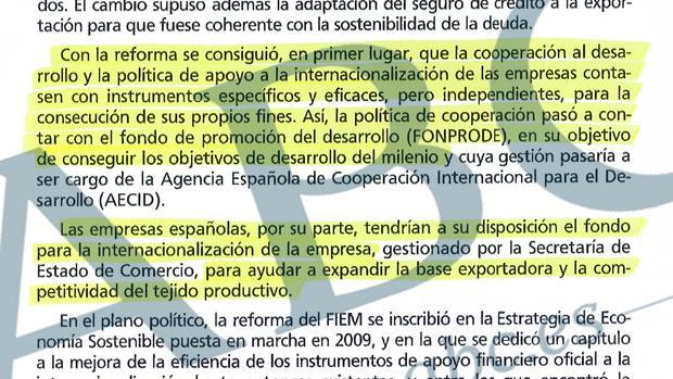 Sánchez plagió en su libro 161 líneas con 1.651 palabras de seis textos ajenos y sin ningún tipo de cita