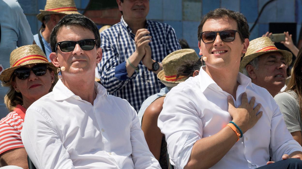 El desafío Valls al hiperliderazgo de Rivera