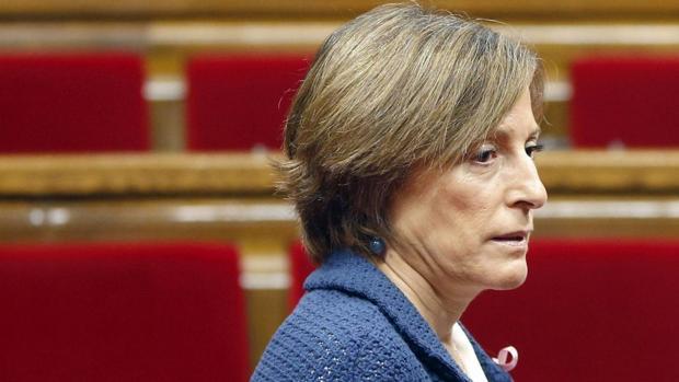 La expresidenta del Parlamento de Cataluña Carme Forcadell