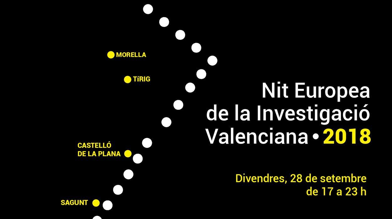 Més de 60 activitats per a celebrar la I Nit Europea de la Investigació Valenciana
