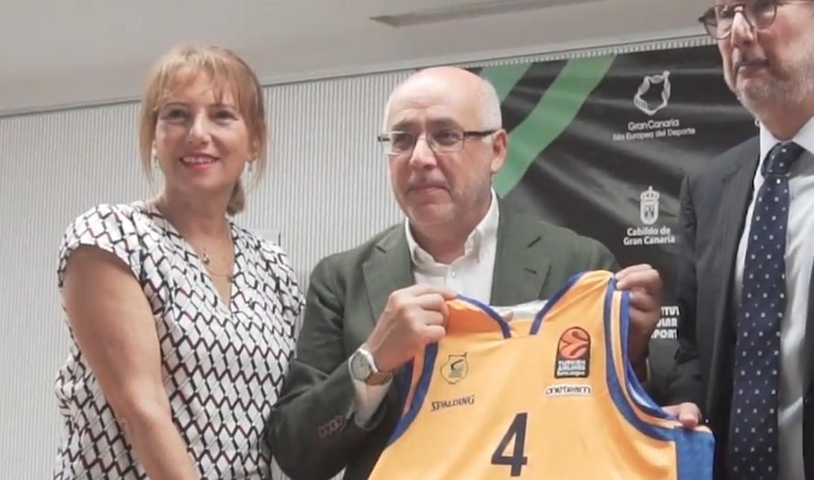 Vídeo: Gran Canaria se promociona en la Euroliga de baloncesto
