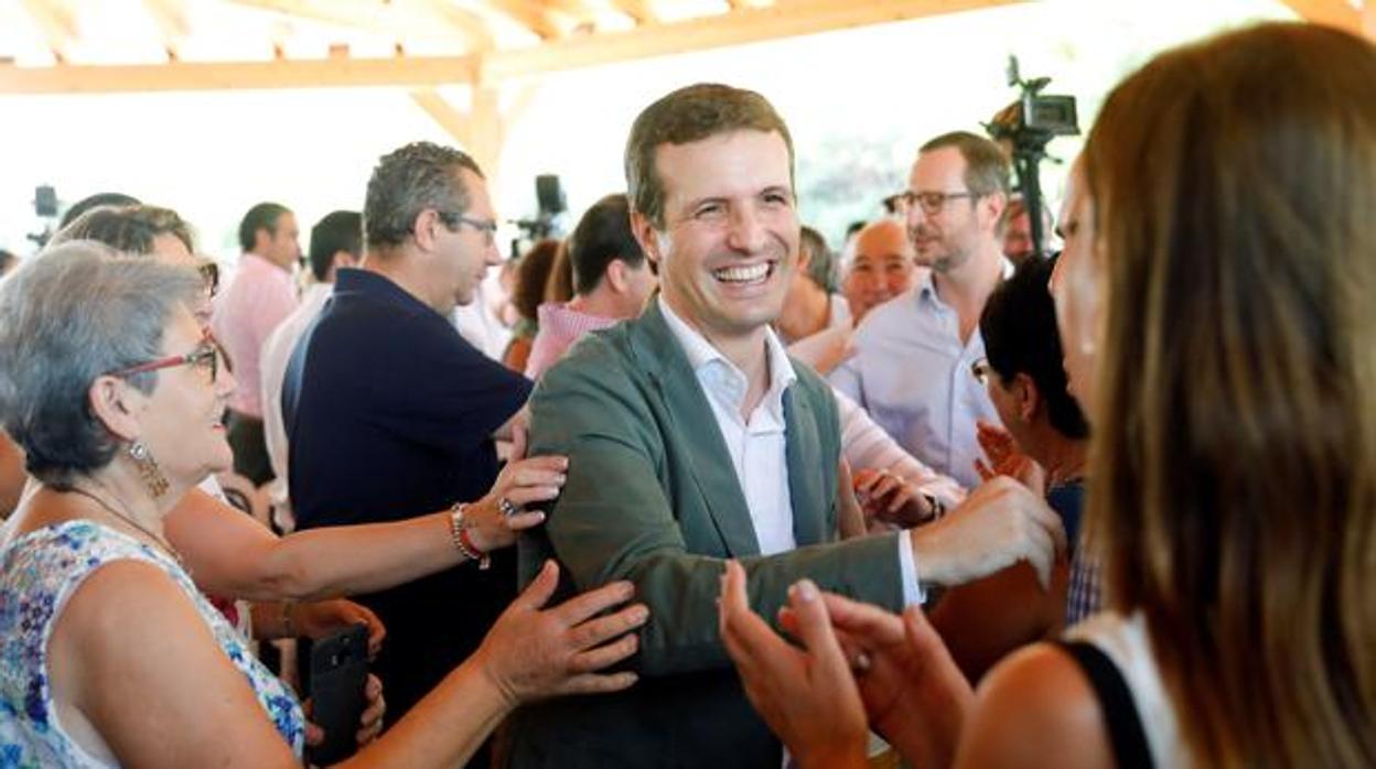 El PP acusa a TVE de «censurar» un acto de Pablo Casado en Valencia