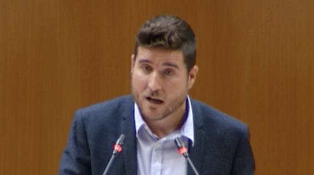 Nacho Escartín, líder de Podemos en Aragón