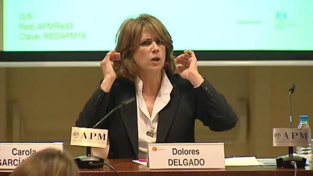 La ministra de Justicia, Dolores Delgado, en una imagen de archivo