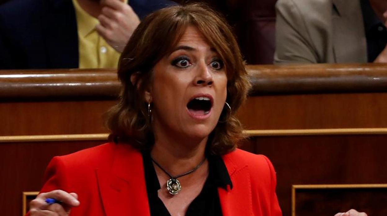 El dilema de la dimisión de Dolores Delgado