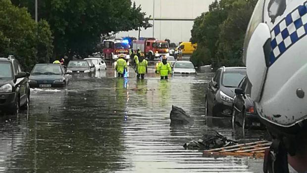 Inundaciones en Valladolid