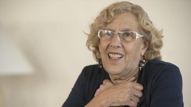 Manuela Carmena, en una entrevista para ABC