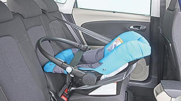 La posición central es la más segura dentro del vehículo