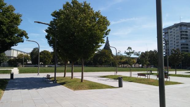 Imagen del parque que homenajeará a aquellos que no quisieron hacer la «mili»