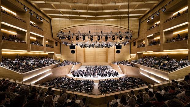 Un concierto de la OBC en el Auditori