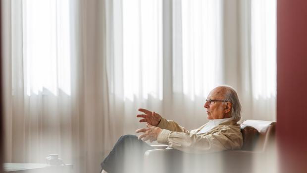 Carlos Saura, durante una visita a Valladolid, en una imagen de archivo