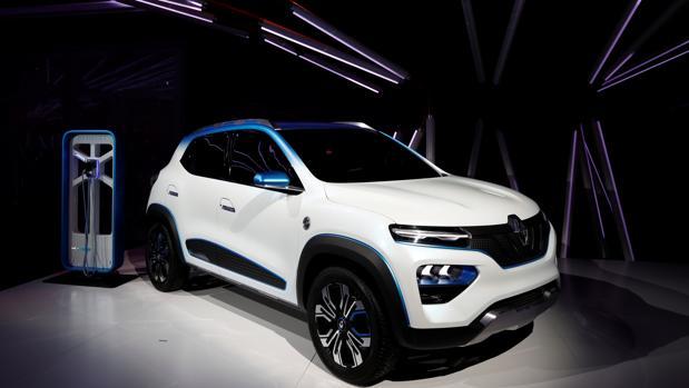 El nuevo modelo eléctrico de Renault, denominado K-ZE, será un todocamino de menores dimensiones que el Captur