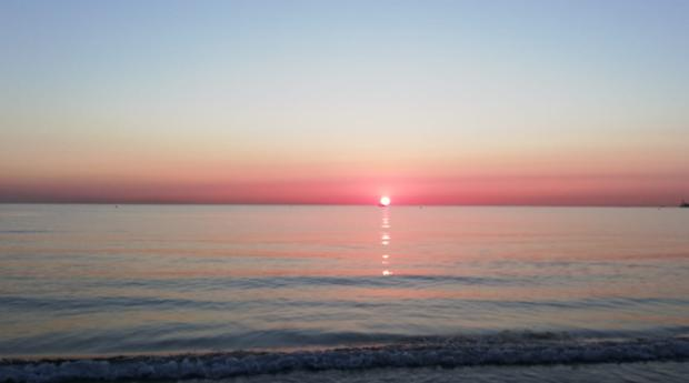 Imagen tomada en la playa de Las Arenas de Valencia