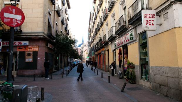 La calle del Pez, en una imagen de archivo