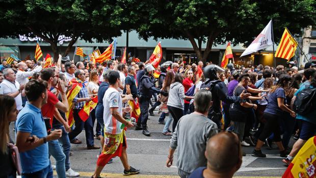Imagen de una de las manifestaciones del año pasado en Valencia
