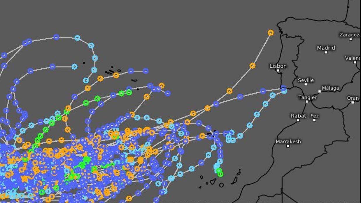 Aemet sobre la temida tormenta tropical «Leslie», que puede llegar a España: «está por ver»