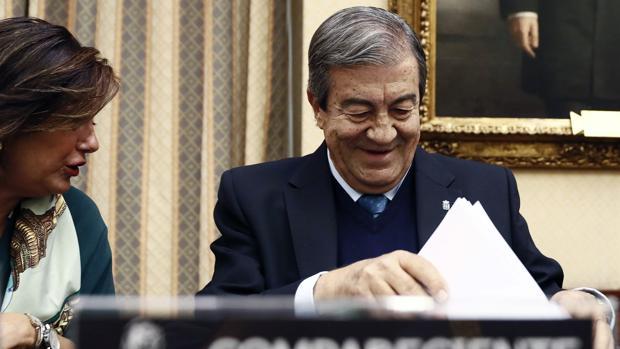 Francisco Álvarez Cascos, ex secretario general del PP