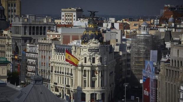 Vistas de la Gran Vía, uno de los principales ejes incluidos dentro de Madrid Central