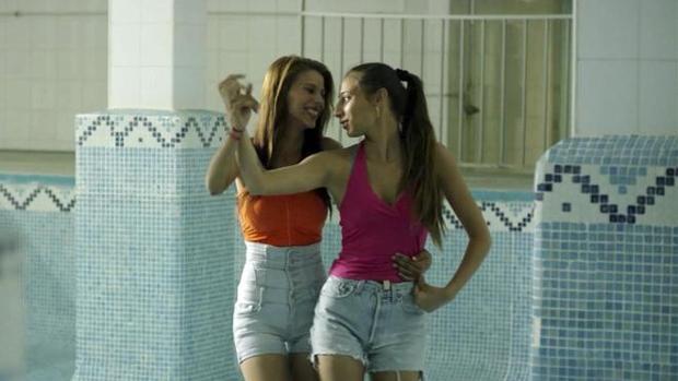 Las protagonistas del filme «Carmen y Lola» que se podrá ver en el marco del festival