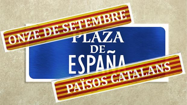 Cambios de nombres en las calles de Cataluña