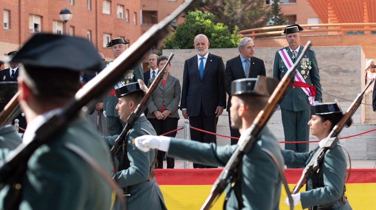 La Guardia Civil en Cataluña se siente «en el punto de mira» de «actitudes bellacas»