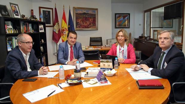 Francisco Martínez Arroyo, Ana Guarinos, Francisco Cañiares y Agapito Portillo